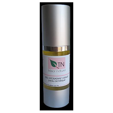 gel hydratant visage peau acn ique tr sor naturel. Black Bedroom Furniture Sets. Home Design Ideas
