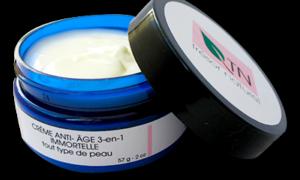 Crème anti-âge Immortelle 3-en-1 / Face cream, anti-aging 3-in-1 Immortal