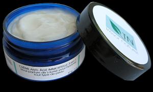 Crème anti-âge Immortelle 3-en-1 au doux parfum de Laurier pour homme / Face cream, anti-aging 3-in-1 Immortal, aroma of Laurel for men