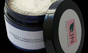 Masque à l'argile anti-oxydant – peau sensible à normale